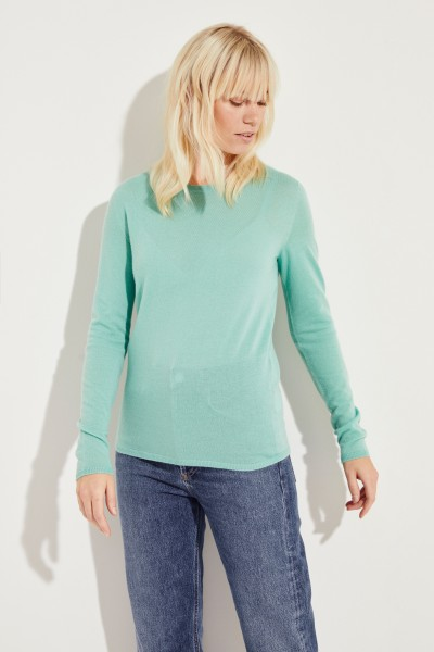 Cashmere-Pullover 'Riverstone' Grün