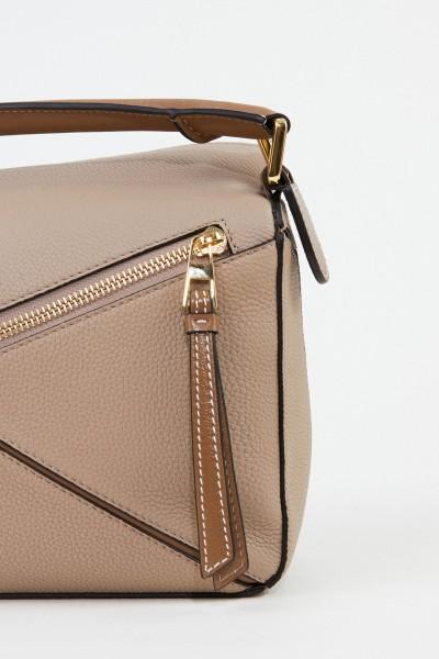 Loewe Bag 'Puzzle Small' Beige/Brown