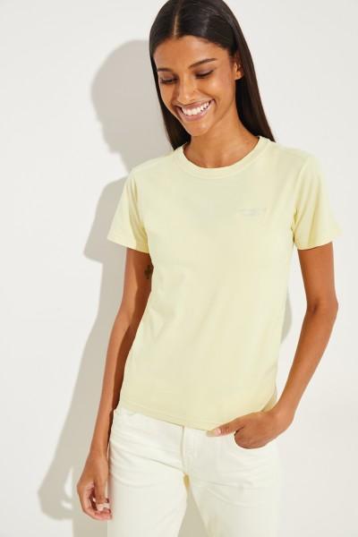 T-Shirt 'Wanda' Vanilla Yellow