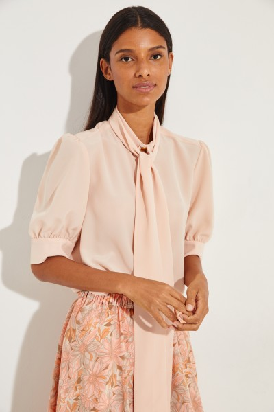 Short sleeve blouse Rosé