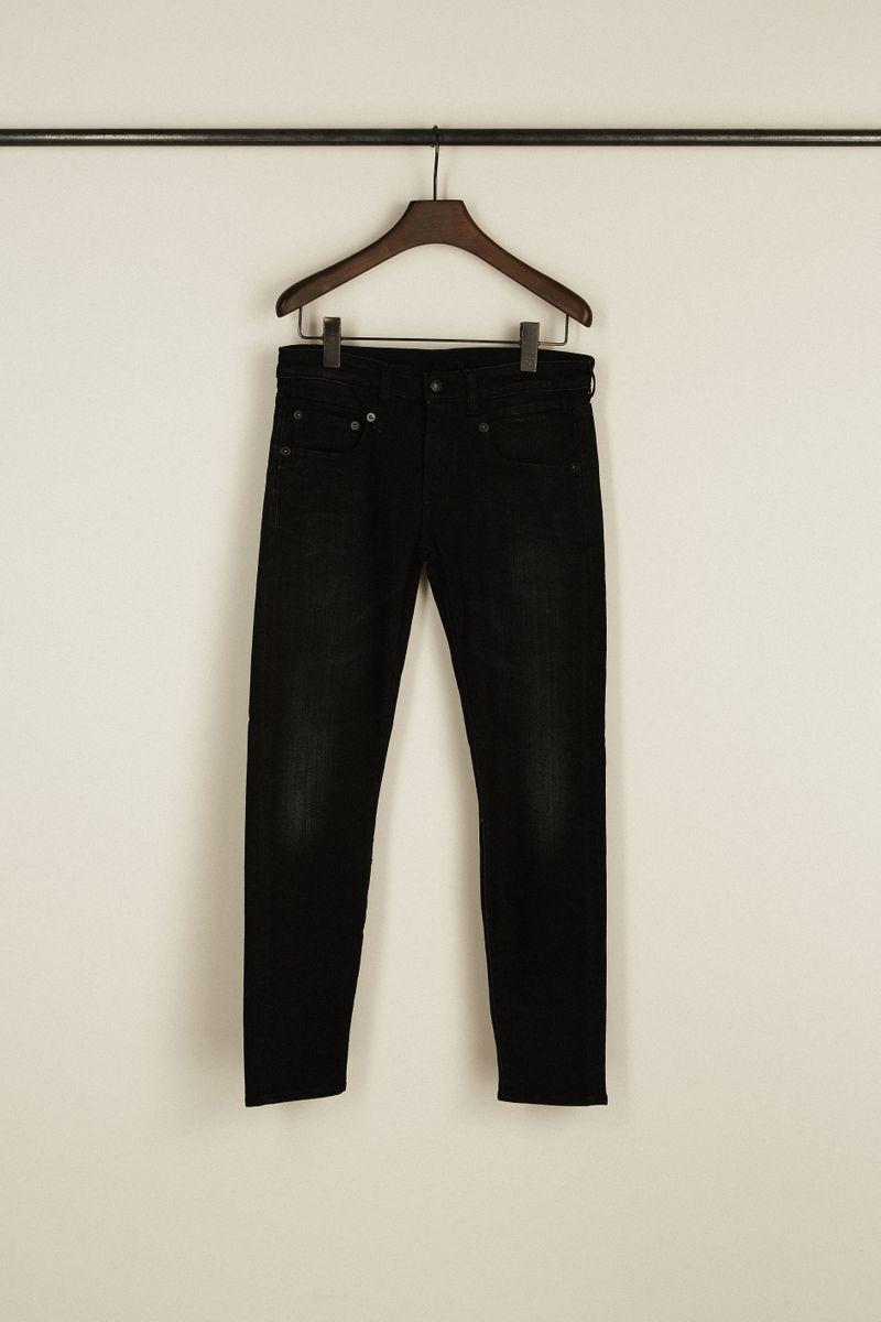Skinny Jeans 'Boy Skinny' Schwarz