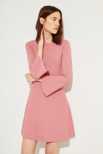 Strick-Kleid Rosé