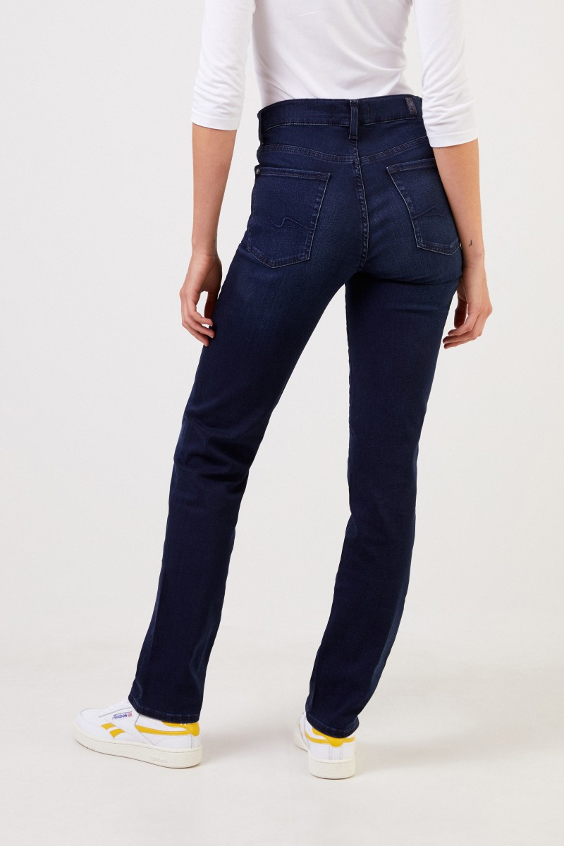 7 for all mankind Jeans 'The Straight' Dunkelblau