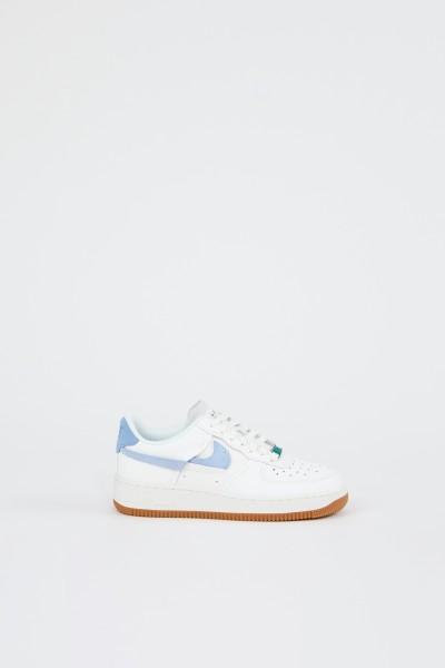 Nike Plateau-Sneaker 'Air Force 1' Weiß/Blau/Grün