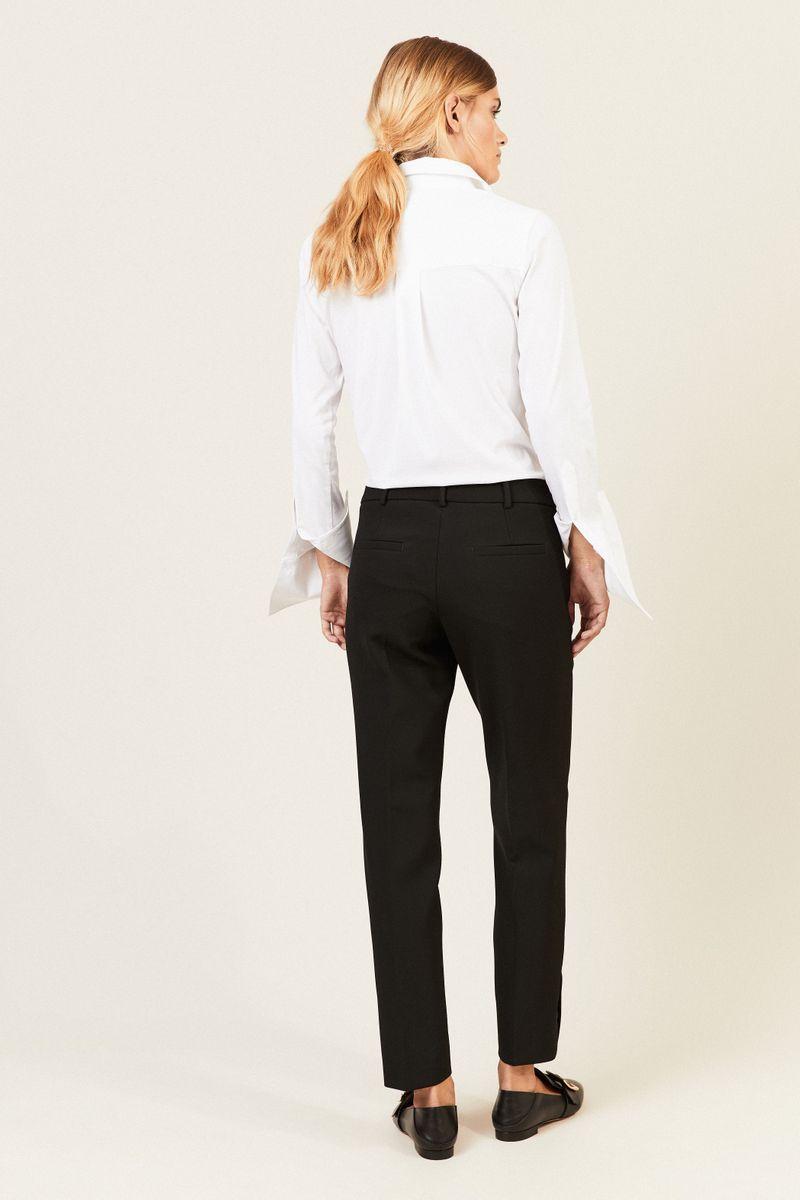 Bügelfalten-Hose 'Renira Front Pocket' Schwarz