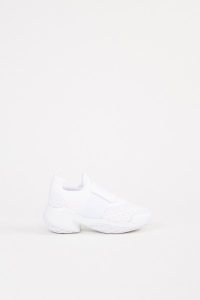 Roger Vivier Sneaker 'Viv Run' with buckle White