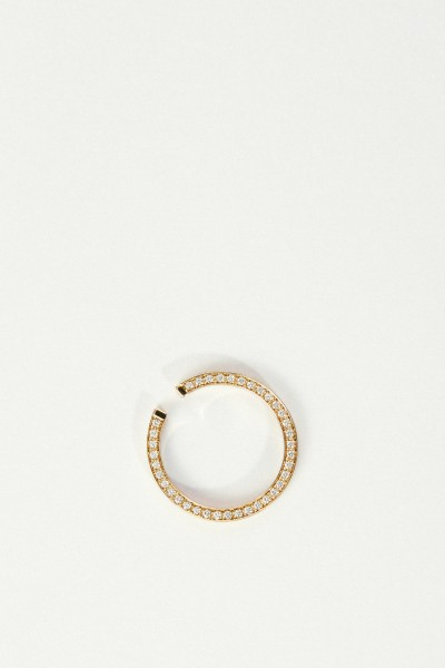 Ina Beissner Earring 'Lua' with diamonds gold