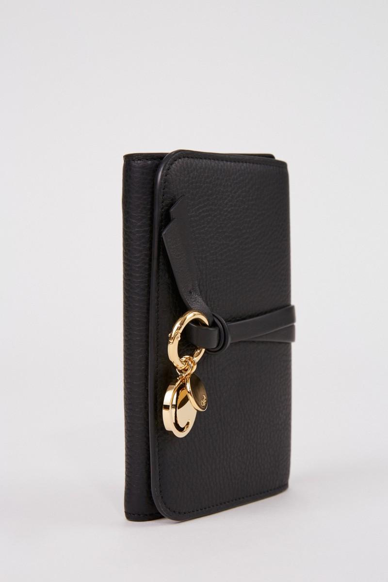 4ef3c11d Leather wallet 'Marcie' Black