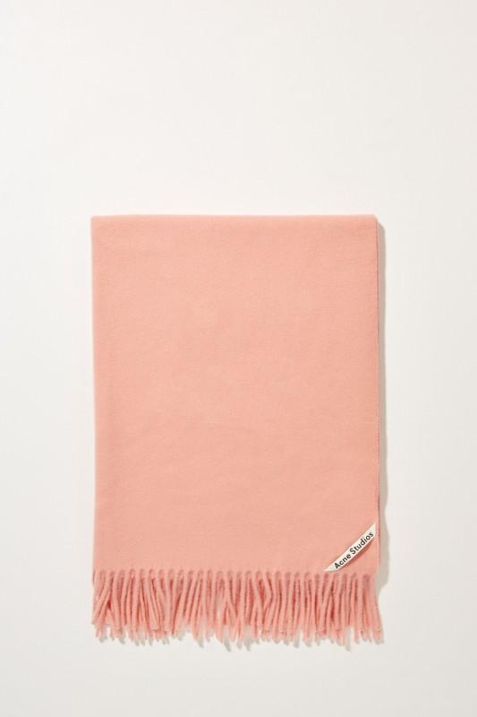 Klassischer Wollschal 'Canada New' Rosé Pale Pink