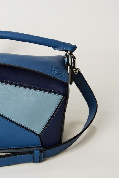 Handtasche 'Puzzle Bag Small' Blau/Multi