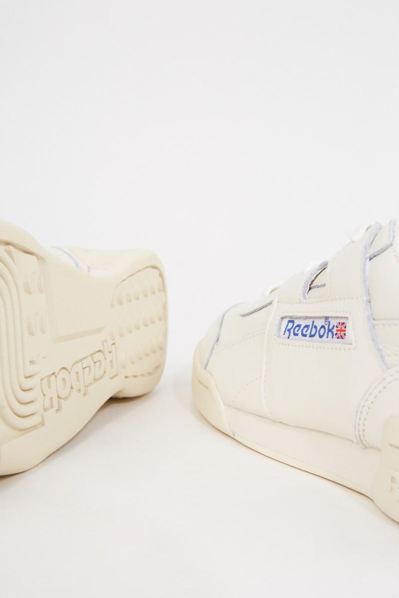 Reebok Sneaker ' Workout PLUS' Weiß/Blau