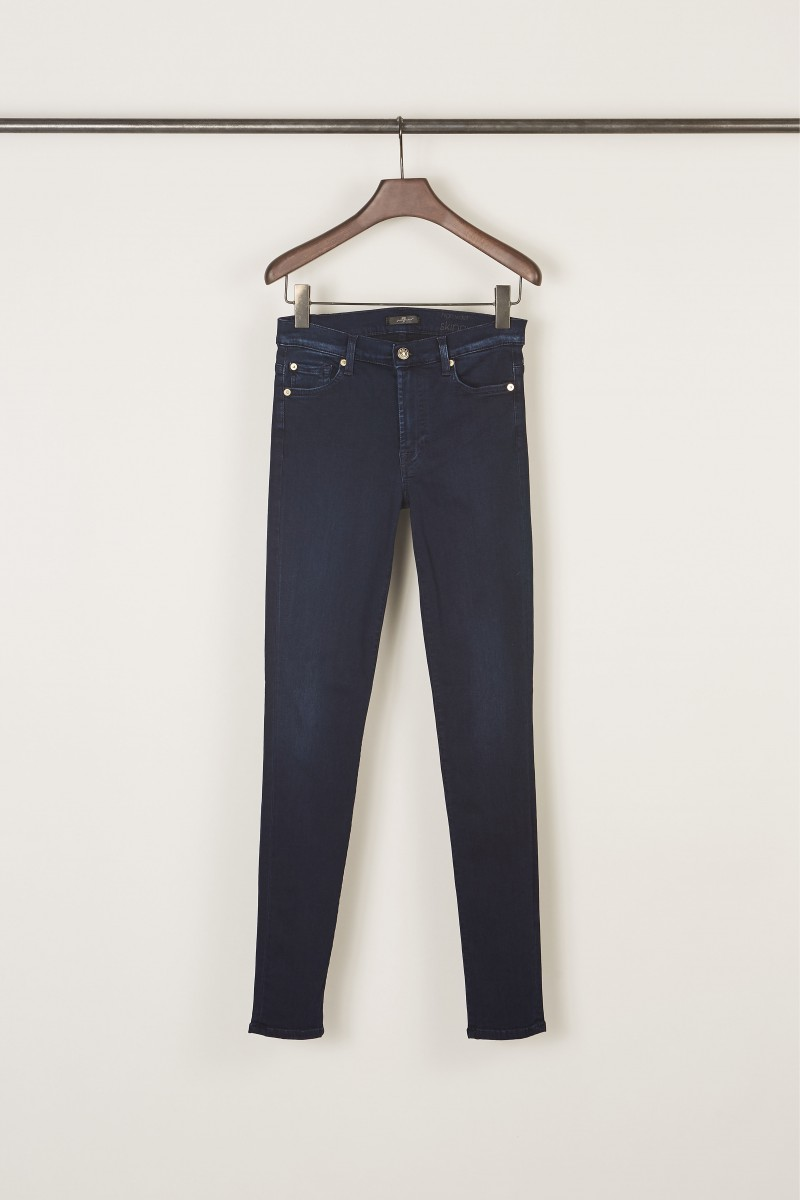 7 for all mankind Jeans 'HW Skinny' Slim Illusion Luxe Rich Indigo