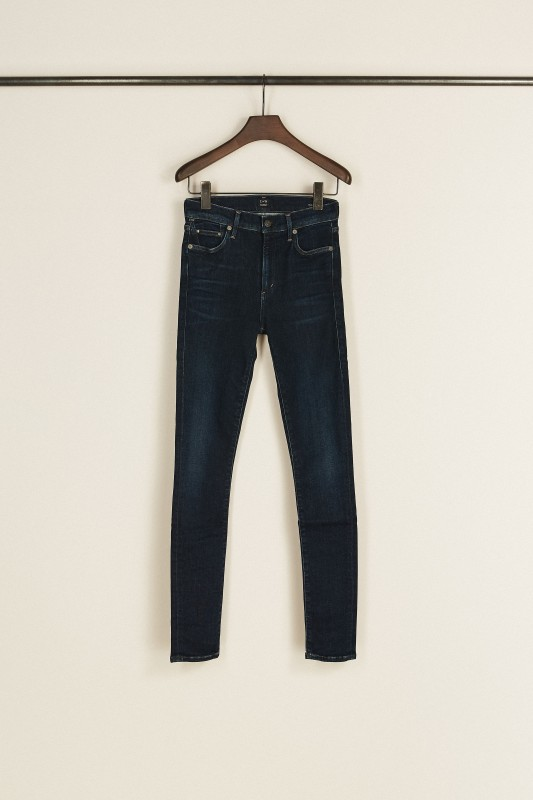High Rise Jeans 'Rocket' Blau