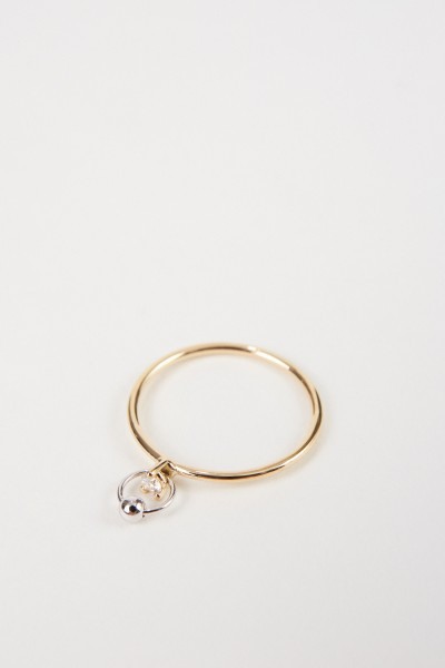 Delfina Delettrez Ring 'Two In One' mit Diamant Gold