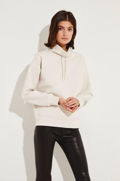 Baumwoll-Sweatshirt Beige