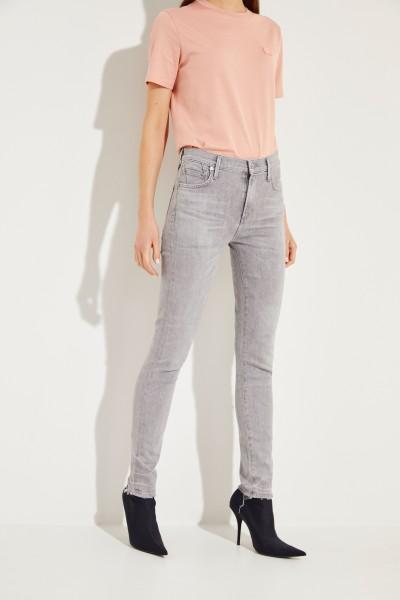 High Rise Skinny-Jeans 'Rocket' Grau