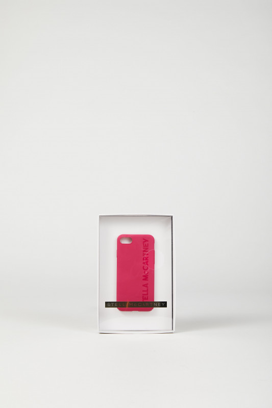 IPhone 7-Case 'Logo' Bright Fuchsia