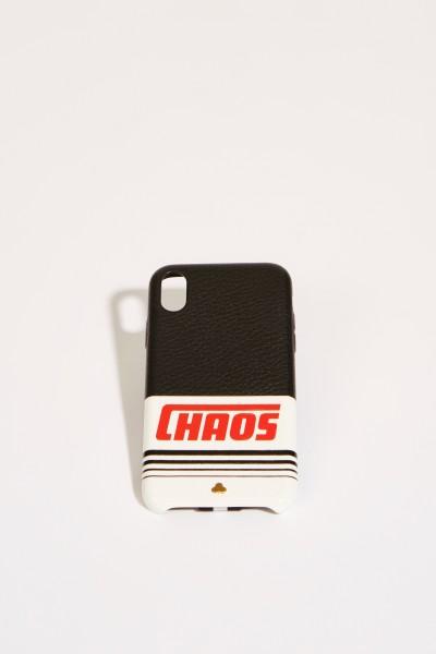 IPhone Case X mit Logo-Schriftzug Schwarz/Multi