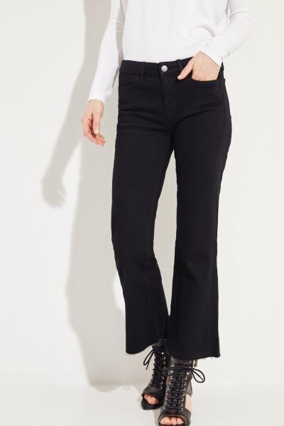 Bootcut Jeans 'Loun' Schwarz
